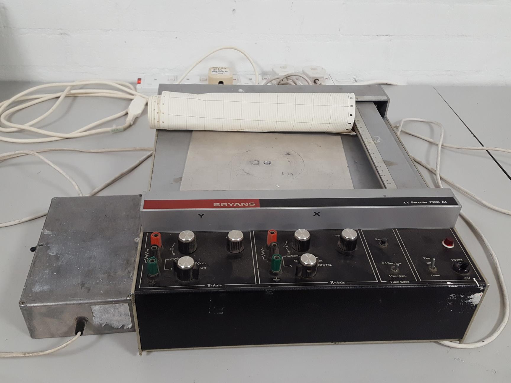 Bryans Xy A4 Chart Recorder Lab